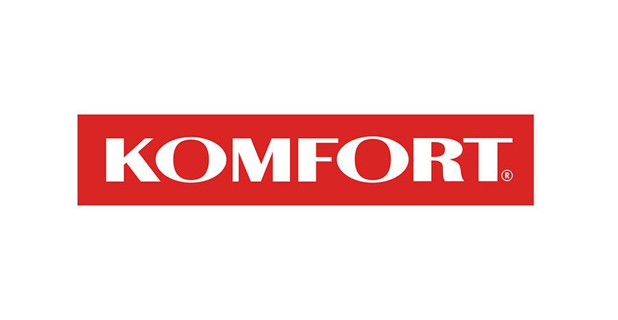 Logo sieci sklepów KOMFORT