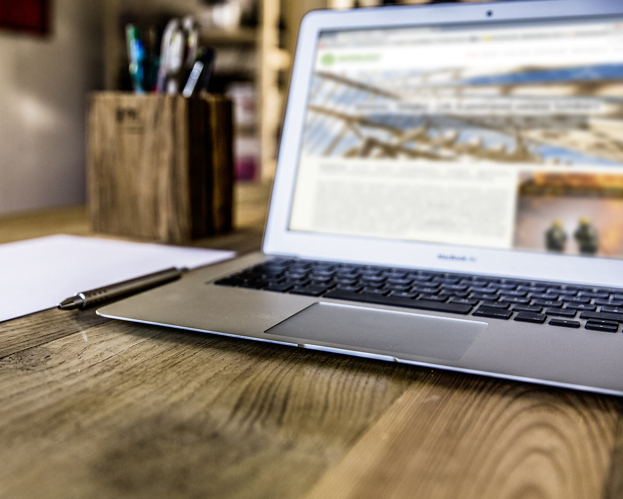 BURNBLOCK zajawka nowej strony dla aktualności