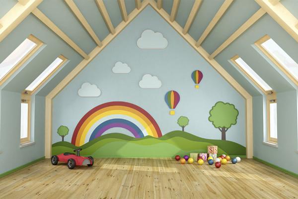 BURNBLOCK pokój dziecinny