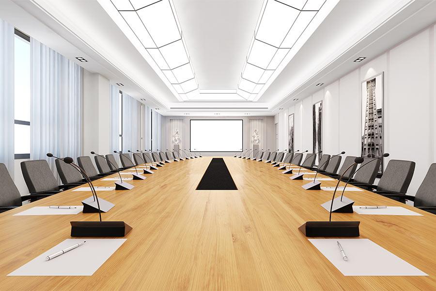 BURNBLOCK - usługi - sala konferencyjna