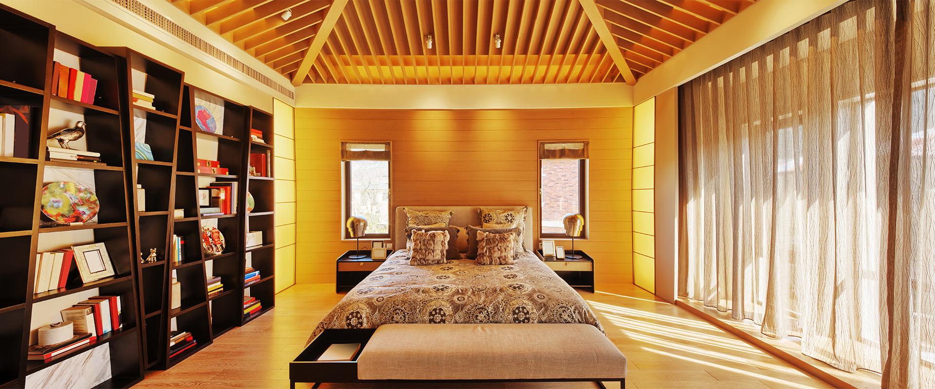 BURNBLOCK drewniany salon