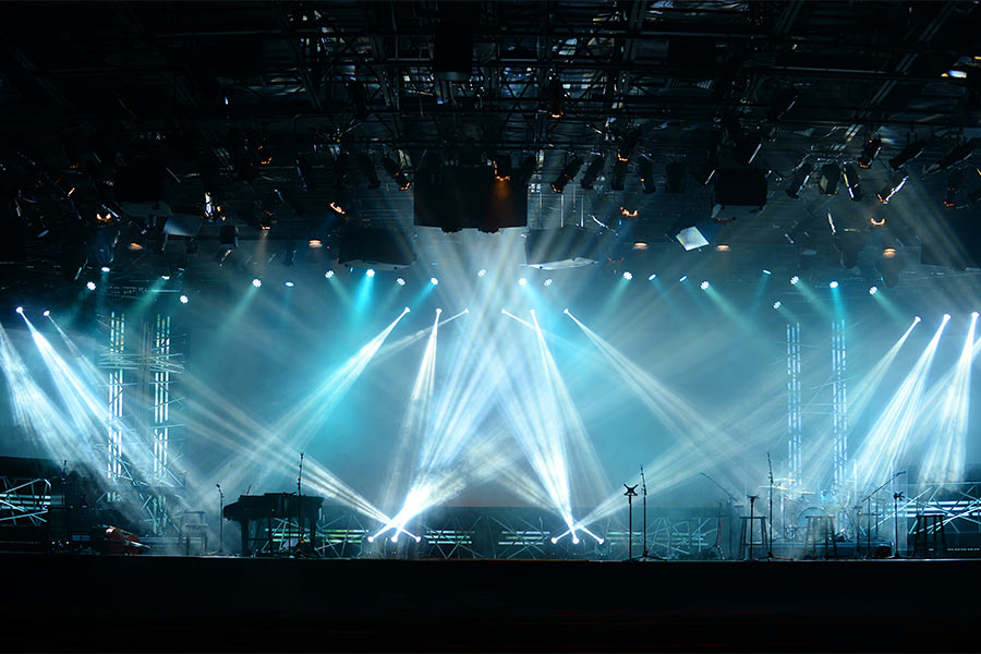 Zastosowanie - koncerty, eventy